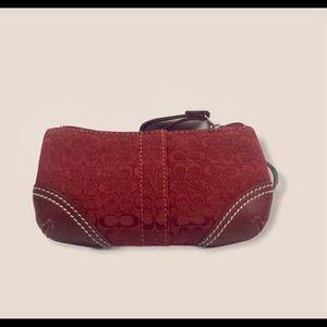 Coach soho mini signature coin bag